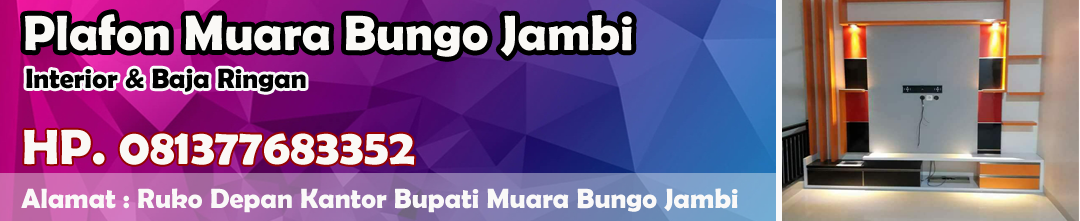 Plafon Muara Bungo Jambi - 0813 7768 3352