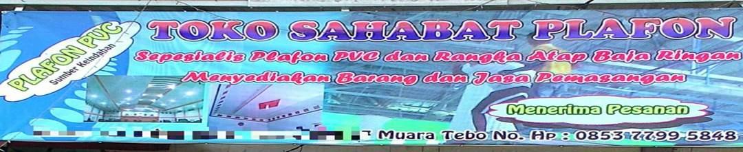 Plafon PVC Jambi